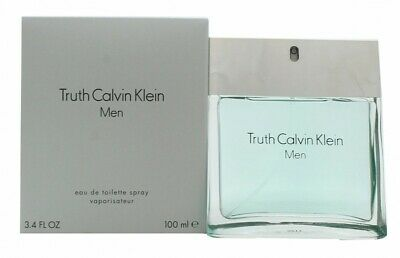 Calvin Klein Truth Eau De Toilette 100Ml Spray - Men's For Him. New