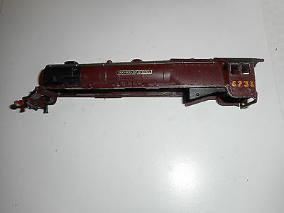 Hornby Dublo Duchess 3 rail L.M.S matoon type loco body only or spares repiars
