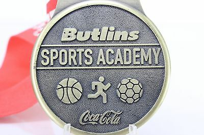 Butlins Sports Academy Medal Sponsored by Coca Cola - Brass with Ribbon