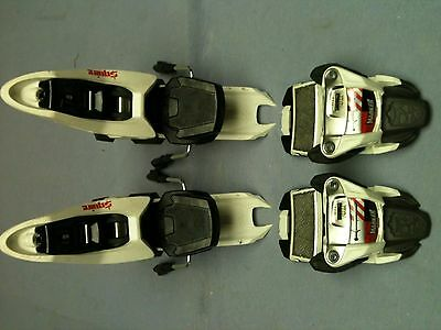 MARKER SQUIRE 11 White/Black/Anthracite 90mm Ski Binding