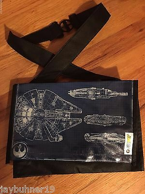 Subway kids meal 2015 STAR WARS The Force Awakens MILLENNIUM FALCON Lunch Tote