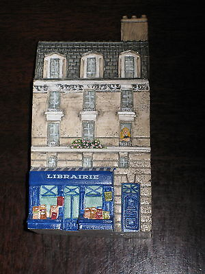 J Carlton Dominique Gault #218163 Librairie Library Building France Hand Painted