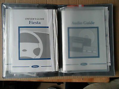 96+ Ford Fiesta lx s  Handbooks and folder