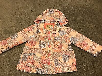 Girls Tu Coat Size 18-24 Months Lovely Pattern