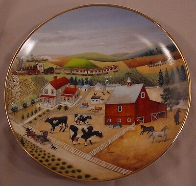 Country Journeys   in American Folk Art by Franklin Mint Collectors Plate