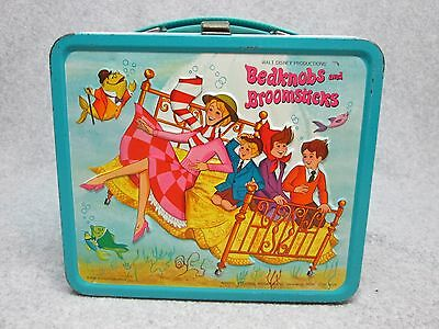 1972  BEDKNOBS and BROOMSTICKS Walt Disney Movie LUNCHBOX  High-Grade  Cond#9