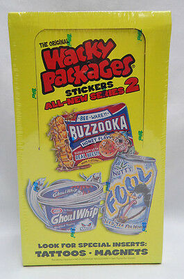 Sealed Box Of 2005 Series 2 Wacky Packages-18 Packs, 6 Cards Per Pack (J)