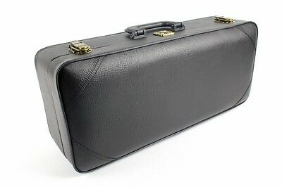 Case for TRUMPET  -  Wood/ Faux Leather - Case ONLY  NEW - Black