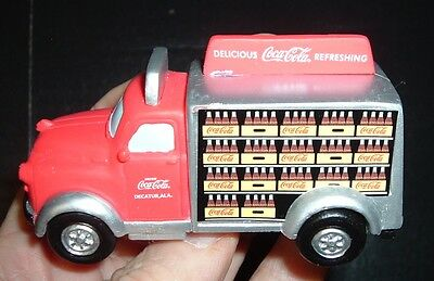Coca Cola Soda Pop Coke Truck Display Piece Detailed!  MINT Free postage