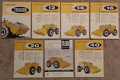 Collection of Allis Chalmers Tractor Loader Sales Literature