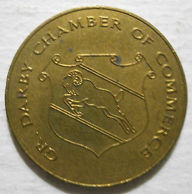 Greater Darby Chamber of Commerce (Pennsylvania) parking token - PA3260A