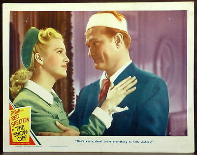 Red Skelton Marilyn Maxwell ORIGINAL 1940s Lobby Card The Show-Off