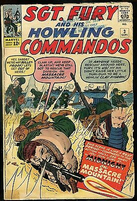 Sgt Fury and His Howling Commandos #3 Good