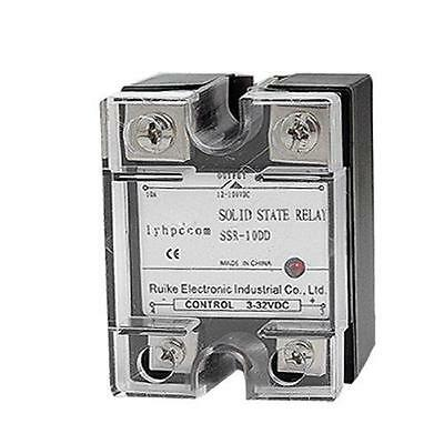 Uxcell DC-DC Temperature Controller Solid State Relay, SSR 10 Amp, 3V-32V, New