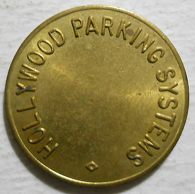 Hollywood Parking Systems (Florida) parking token - FL3360C