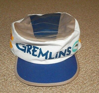 1984 GREMLINS PAINTER CAP (Gizmo & Stripe) ~ Made in USA