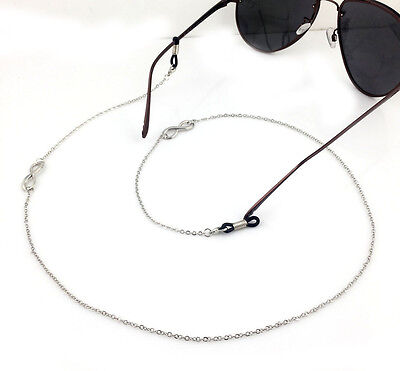 100% handmade Gorgeous Finish Spectacle silver 8 Chain Reading Fashion Free