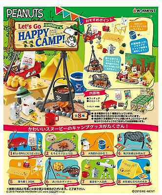 Miniatures Snoopy Let's Go Happy Camp Complete Box - Re-ment  , h#2
