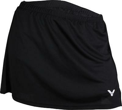 VICTOR Damen Sport Rock schwarz Badminton Tennis Squash Shorts Volleyball Gr. 40