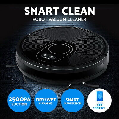 Automatic Robot Robotic Vacuum Cleaner Floor Sweeper Dry Cleaning Recharge