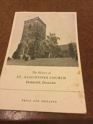 Old Booklet The History Of St Augustines Church Dodderhill Droitwich