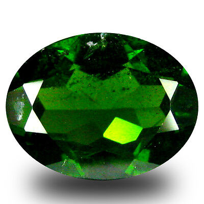 1.92 ct  Dazzling Oval Shape (9 x 7 mm) Green Chrome Diopside Natural Gemstone
