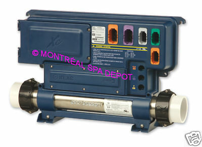 Gecko Aeware IN.XE spa pack control unit with 4kW heater part# 0602-221063-299