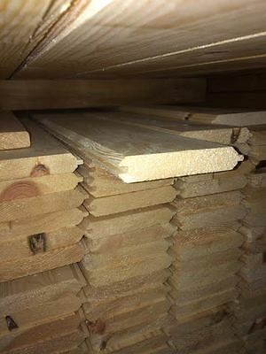 Pine Timber T&G V Groove Cladding 110 X 20mm 2.4MTR Lengths