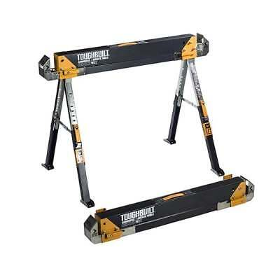 Toughbuilt C700 Saw Horse Adjustable Jobsite Table Sold Loose