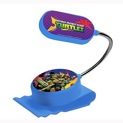 Teenage Mutant Ninja Turtles Clip On Bed Light Kids Bedroom Lighting Official