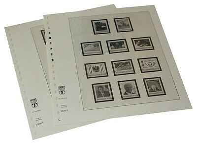 Lindner 209PM-E Austria Personalized single stamps of the OSD - 2005-2014