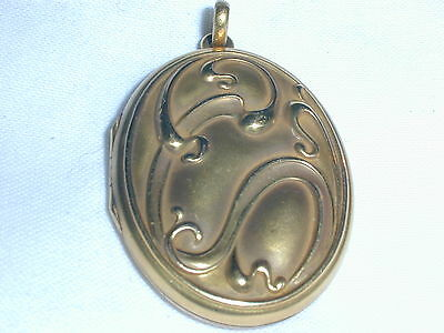 Art Deco Beautiful Gold Filled Locket- Early 1900's Estate!
