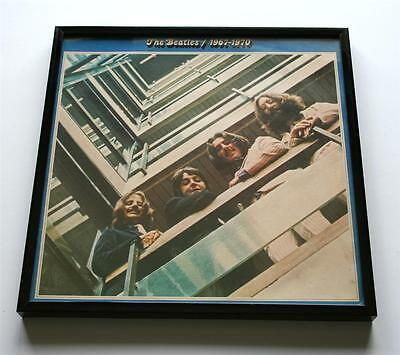The Beatles FRAMED Album Cover Vintage LP sleeve in a NEW FRAME unique gift blue
