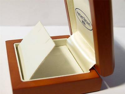 #B3 - EARRINGS Necklace Quality Wood Jewellery Box Display Case