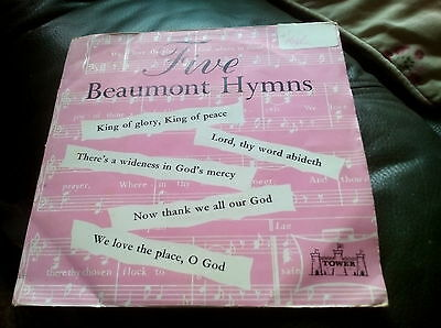 "The Bowman-Hyde Singers: Five Beaumont Hymns (7"" vinyl EP)  Tower 1962"