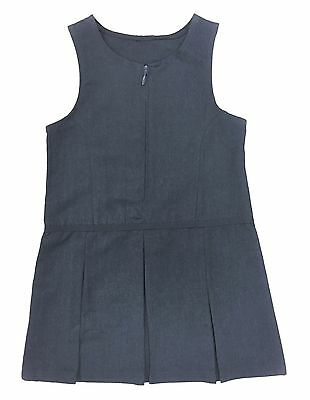 GIRLS PINAFORE DRESS GREY 2-12 YEARS EX STORE *Random Pick* NEW