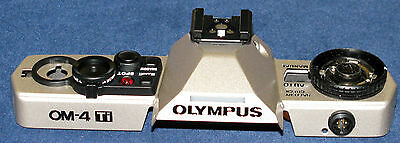 GENUINE OLYMPUS OM-4Ti Top Cover (Ti) - NEW