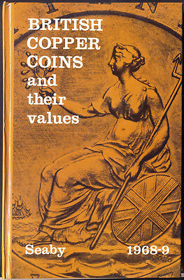 BRITISH COPPER COINS & THEIR VALUES (1968/19969). 112-Page Hardback Book