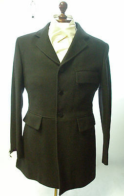 Foxley Mens Hunting Coat/ Jacket- Black Size 40