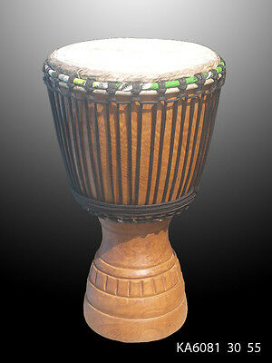 Djembe Instrument Musique Africain Percussion Sculpte**