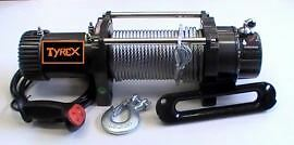 Raptor 4x4 Tyrex Winch 8300lbs 12v Wire Rope Off Road Recovery Winching