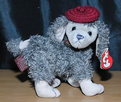 Ty Attic Treasures 7 Inch Cheri The French Poodle Soft / Plush Toy