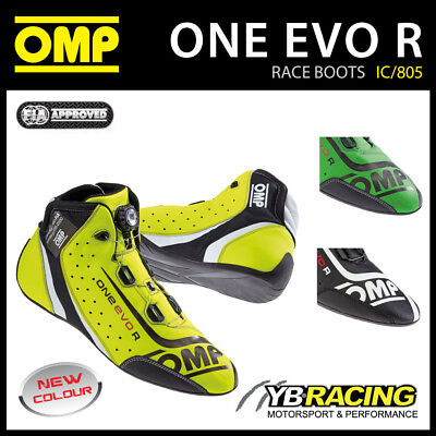 Ic/805 Omp One Evo R Formula Race Rally Boots - Ultra Soft & Ultra Light!