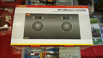 OO Gauge Model Railway HORNBY R8012 Twin Track Power Controller Transformer