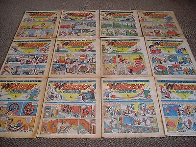 Whizzer And Chips 1977 Comic Job Lot