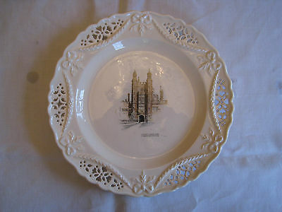 Leeds Ware Classical Creamware Limited Edition Eton College Dish : Luptons Tower