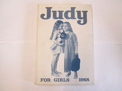Acceptable - Judy For Girls 1968 - Various 1968-01-01 Cracked hinge. No dust jac