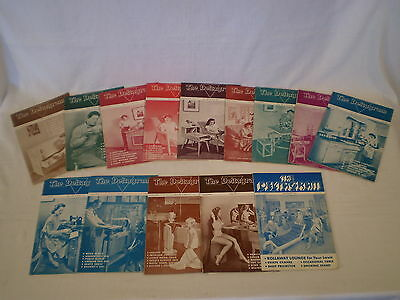 (14) Vintage 1944-1949 The Deltagram Delta Tool Wood Crafters Home Project Books