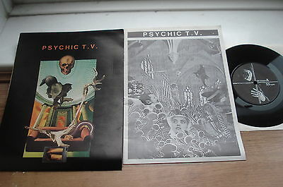 Psychic TV  Roman P. SORDIDE SENTIMENTAL EX+ DISC PLAYS EX+COMPLETE 2nd Ed 7""