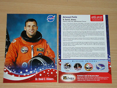 nice original NASA picture from former NASA-Astronaut Dr.David Hlmers 5x7 inch
